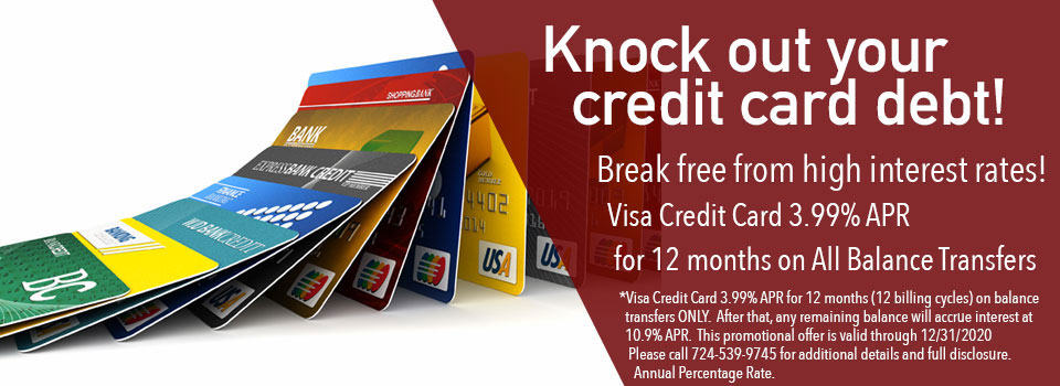 ... Knock Out your debt with low rate credit card